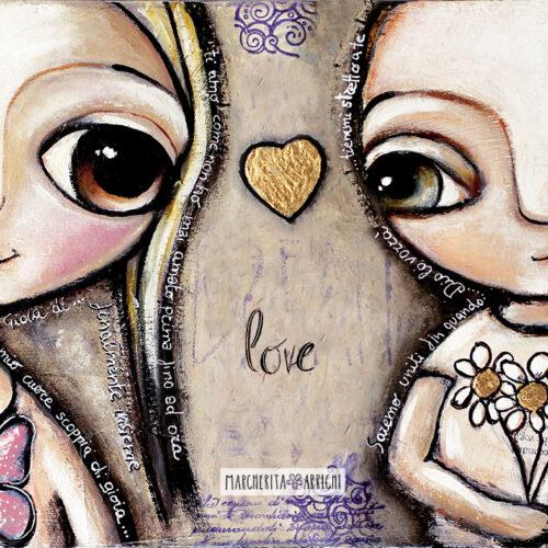 I Bambini dagli Occhi Grandi e l'Amore