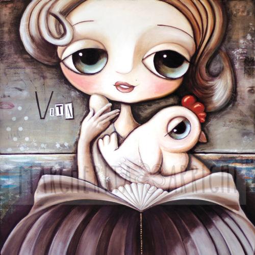 La Pupetta Marylin Monroe e la Gallina