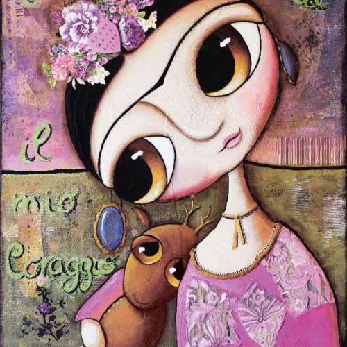 Frida Kahlo ed il cerbiatto