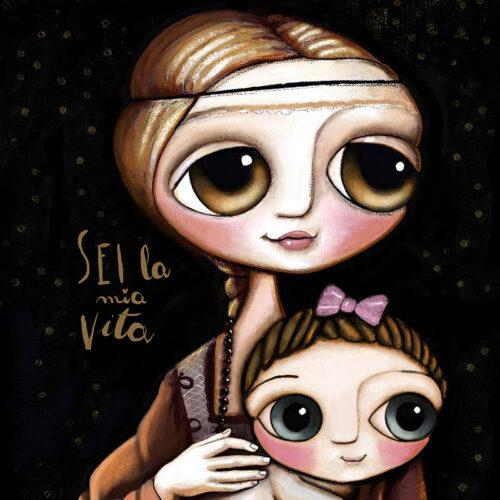 La dama con il bambino